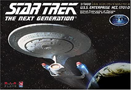 Star Trek 1/1400 NCC-1701-D Enterprise (japan import)