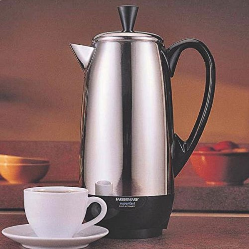 New Farberware Fcp412 Stainless Steel 4 To 12 Cup Electric Perculator 6207625 (Farberware Percolator Electric compare prices)