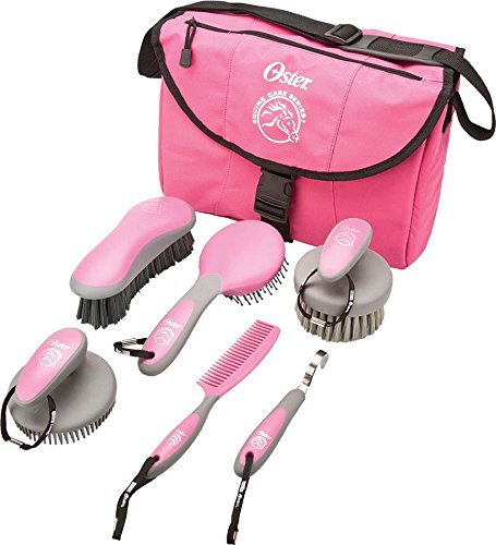 Oster Equine Care Series 7-Piece Grooming Kit, Pink (Oster Mane And Tail Brush compare prices)