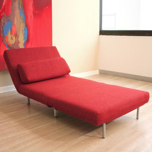 Baxton Studios Rhett Convertible Chair From Wholesale Interiors Repo Furniture Store