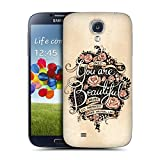 Head Case Designs Beautiful Introspection Replacement Battery Back Cover for Samsung Galaxy S4 I9500