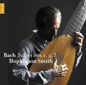 J.S. Bach: Lute Suites nos. 1, 2 & 3