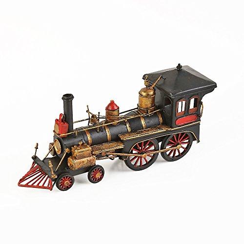 The Model Western Locomotive Large Black Metal/Red