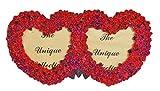 Indigo Creatives Love Couple Rosy Heart twin Photo frame