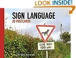 Daily Telegraph Sign Language Postcar...