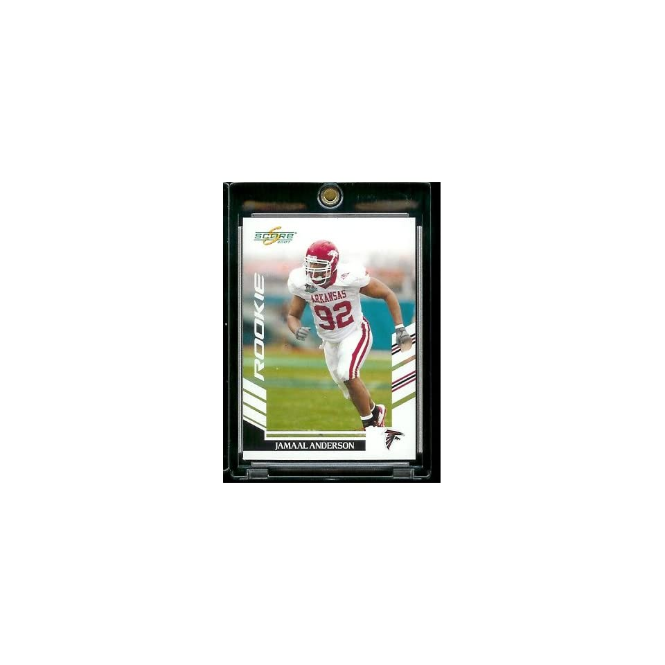 5787b7a8b7ef 2007 Score   368 Jamaal Anderson Atlanta Falcons NFL Football on ...
