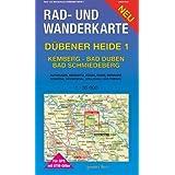 Dübener Heide 1. Kemberg, Bad Düben, Bad Schmiedeberg 1 : 35 000 Rad- und Wanderkarte: Mit Authausen, Bergwitz...