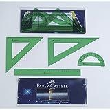 Faber-Castell 65021 - Juego de dibujo, color verde