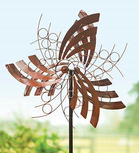 Angel Wings Garden Wind Spinner