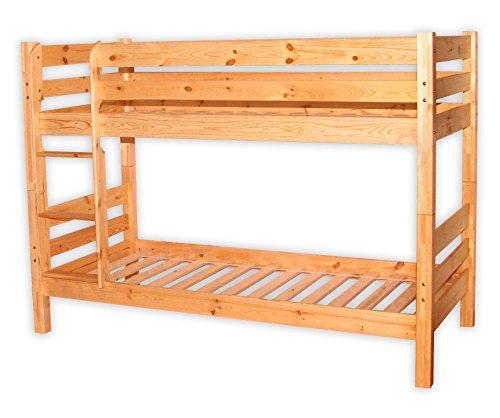 etagenbett kiefer 90x200 incl 2 rollroste. Black Bedroom Furniture Sets. Home Design Ideas