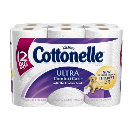 Cottonelle Ultra Comfort Care Toilet Paper, Big
