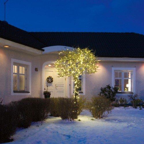 LED Micro Lichterkette für Außen, 20 Kerzen