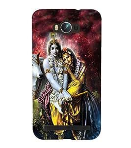 Lord RadhaKrishna Designer Back Case Cover for Asus Zenfone Max