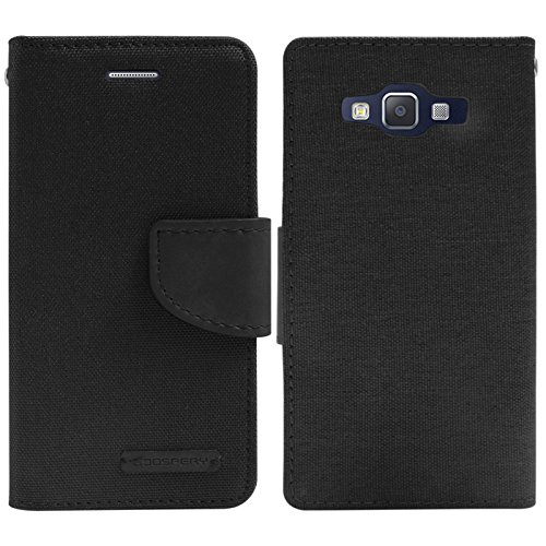 Book Cover Goospery Samsung I Black : Dmg mercury goospery canvas diary wallet folio book cover