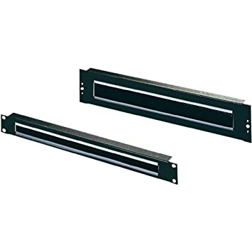 Rittal Panneau passe-câbles 1 HE, noir 5502.265