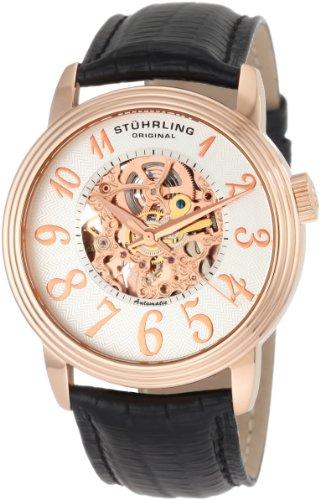 Stuhrling Original Men's 107A.334534 Classic 'Apollo' Skeleton Automatic Watch