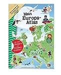Mein Europa-Atlas: Mit vielen Sticker...