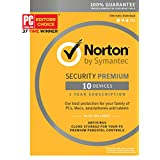 Norton Security Premium - 10 Devices [Key Card]