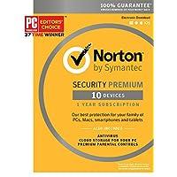 Norton Security Premium - 10 Devices [Key Card]