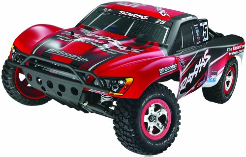 Traxxas 58034 Slash 2WD Short Course Truck with 2.4GHz TQ Radio and Battery, Colors May Vary
