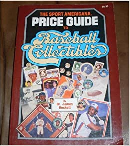 baseball beckett price guide free