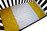"iLuvBamboo Baby Crib Waterproof Bamboo Sheet Saver - Unbleached & Undyed Bamboo Top Layer - XL 24"" x 29.5"""