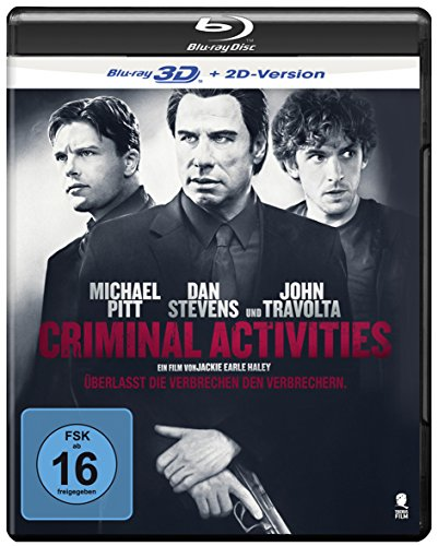 Criminal Activities - Lasst das Verbrechen den Verbrechern [3D Blu-ray + 2D Version]