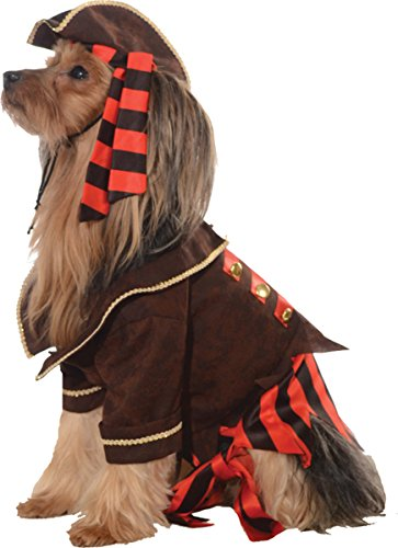 [Morris Costumes Pet Costume Pirate Boy] (Homemade Pirate Costumes Womens)