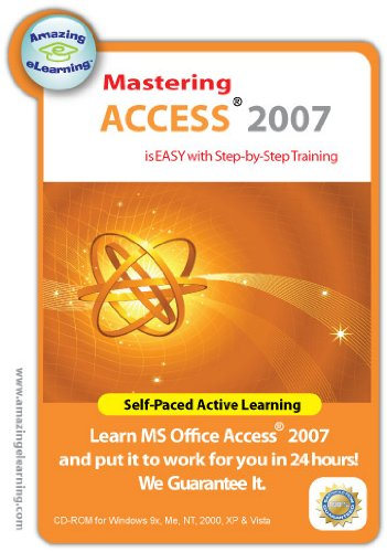Access 2007 Step-by-Step Training CD Course