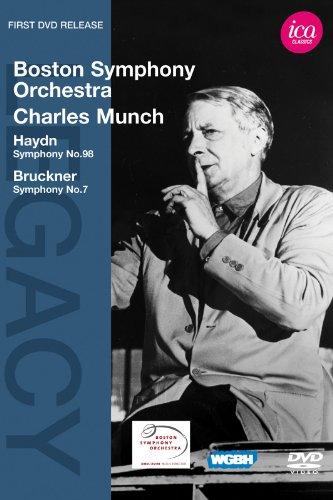 Haydn Symphony No 98, Bruckner Symphony No. 7: BSO/Munch