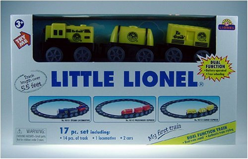 Little Lionel My First Train Cargo Express 17-Piece Train Set with Sound - Buy Little Lionel My First Train Cargo Express 17-Piece Train Set with Sound - Purchase Little Lionel My First Train Cargo Express 17-Piece Train Set with Sound (Lionel, Toys & Games,Categories,Play Vehicles,Trains & Railway Sets)