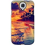 YP Sunset Beach Design Hard Back Case Cover For Samsung Galaxy S4 Mini