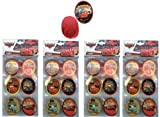 Disney Cars Cupcake Topper Rings x 24 pcs