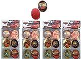 Disney Cars Cupcake Topper Rings x 24 pcs