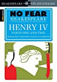 img - for Henry IV , Parts One and Two(No Fear Shakespeare) book / textbook / text book