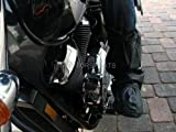 MOTORCYCLE BOOT SHOE RAIN COVERS COVER WATERPROOF 9-10 (BTCVR-K-4243)