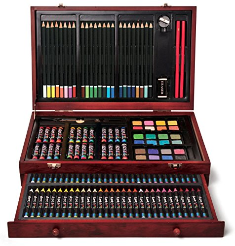 Art 101 142-Piece Wood Art Set (Pencil Art Box compare prices)
