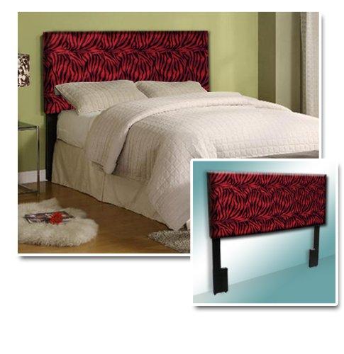 Red Zebra Bedding front-151654