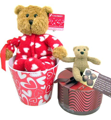 Valentines Day Gift for Her Plush Teddy Bear