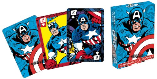 Marvel Captain America Series 2 Comic Playing Cards