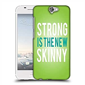 Snoogg Strong is the New Skinny Designer Protective Back Case Cover For HTC one A9