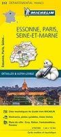 Carte Essonne, Paris, Seine-et-Marne Michelin