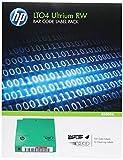 HP LTO4 Ultrium RW Paquet d'etiquette de code barres...