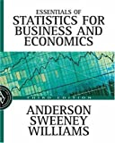 img - for Essentials of Statistics for Business and Economics with Data Files: 3rd (Third) edition book / textbook / text book