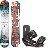 Rossignol Trickstick CYT Amptek 154 Mens Snowboard + Sapient Wisdom Bindings - Fits Boot... by Rossignol