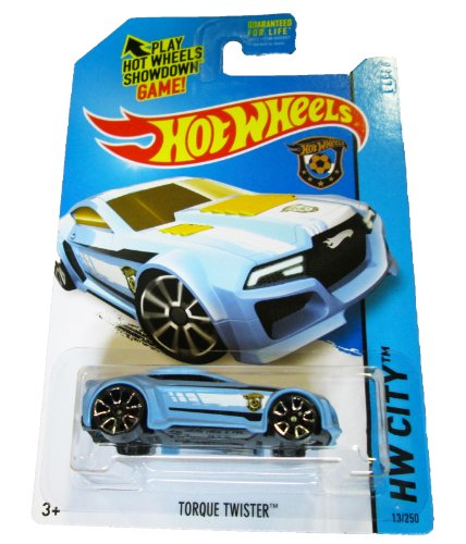 Hot Wheels - 2014 HW City 13/250 - HW Goal - Torque Twister (blue) - 1
