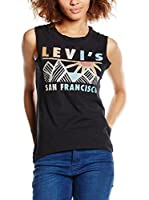 Levi's Top Graphic Muscle Tank (Negro)