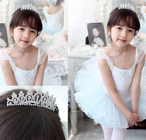 Kids Princess Tiara wedding recital event girl princess makeover (A type )