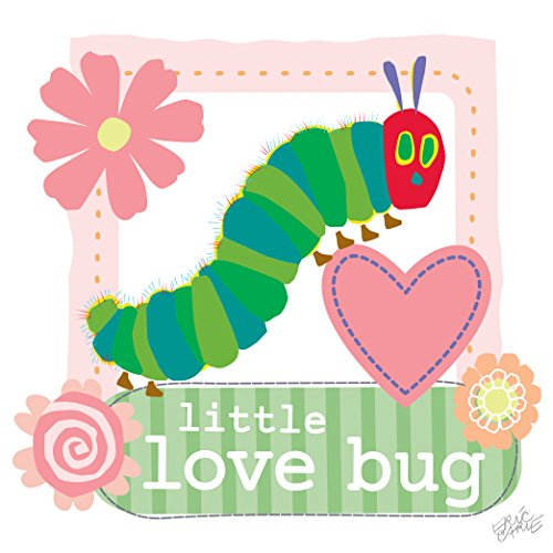 Marmont Hill Eric Carle's The Very Hungry Caterpillar Little Love Bug Canvas Wall Art, 18 by 18-Inch