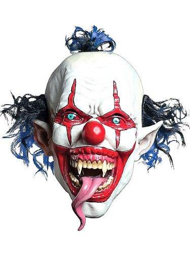 Morbid Enterprises M37117MO Lizard Tongue Evil Clown Mask